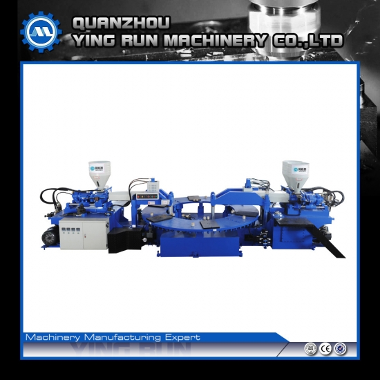 PVC Upper And Strap Injection Moulding Machine